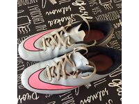 Nike Mercurial Football boots Firm Ground Size 9