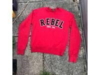 Dsquared red rebel jumper