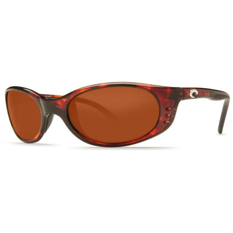 Costa Del Mar Stringer Polarized Sunglasses 580P Tortoise/Copper Rare-Small fit