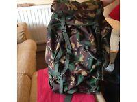 85 L Mil-Com Camouflage Rucksack