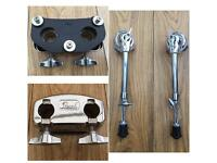 Pearl Bass Drum Tom Mount Bracket & Spurs (legs)