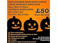 NEW BOOTCAMPS ADDED