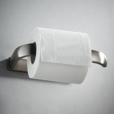Toilet Paper Holder Brass Wall Mounted Chromed Toilet Roll Paper Holder B