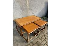 G Plan Astro Side Table and Two Nesting Tables