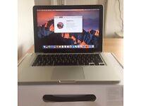 Apple Macbook Pro 13 inch late 2011 2.8ghz dual core intel core i7 750gb hard drive