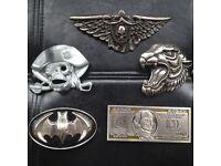 5 metal belt buckles