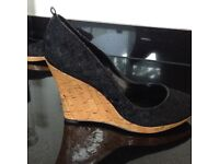 Dune Wedge Shoes size 6
