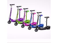 Electric E Scooter Ride on Rechargeable Battery Scooters With Led Light