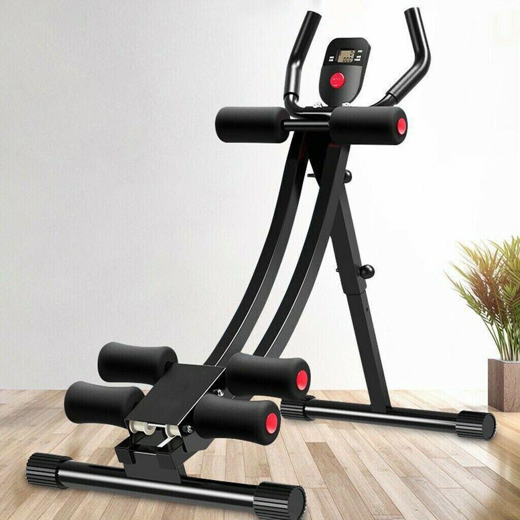 Ab Abdominal Exercise Machine Cruncher Trainer Fitness Body Shaper Gym Equipment 5