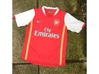 Arsenal football t shirt