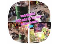 Nutribullet Special Edition Green With Expansion Pack. Only Used Three Times!