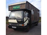 7.5 t Horsebox, full years test,4 Horse, Detachable Flatbed.