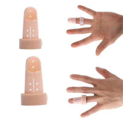 Mallet-fingerschiene (2x Mallet Fingerschiene Klammer Schutz Fingergelenk Schmerz Arthritis)
