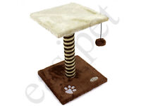 Cat Sisal Scratching Post Tree Activity Centre - New & Boxed