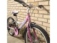 """Girls Falcon Castaway 20"""" wheels bike"""