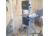 Metabo 318 Precision Band Saw...4-5 months old...used a few times
