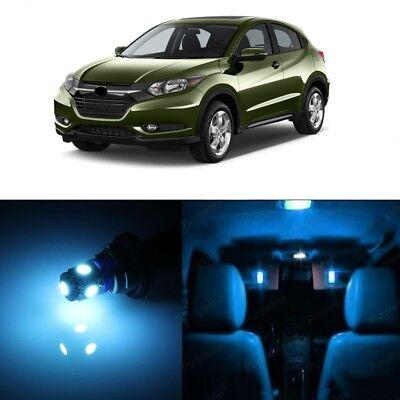 12 x Deluxe Ice Blue LED Interior Lights For 2016 - 2018 Honda HR-V HRV + TOOL