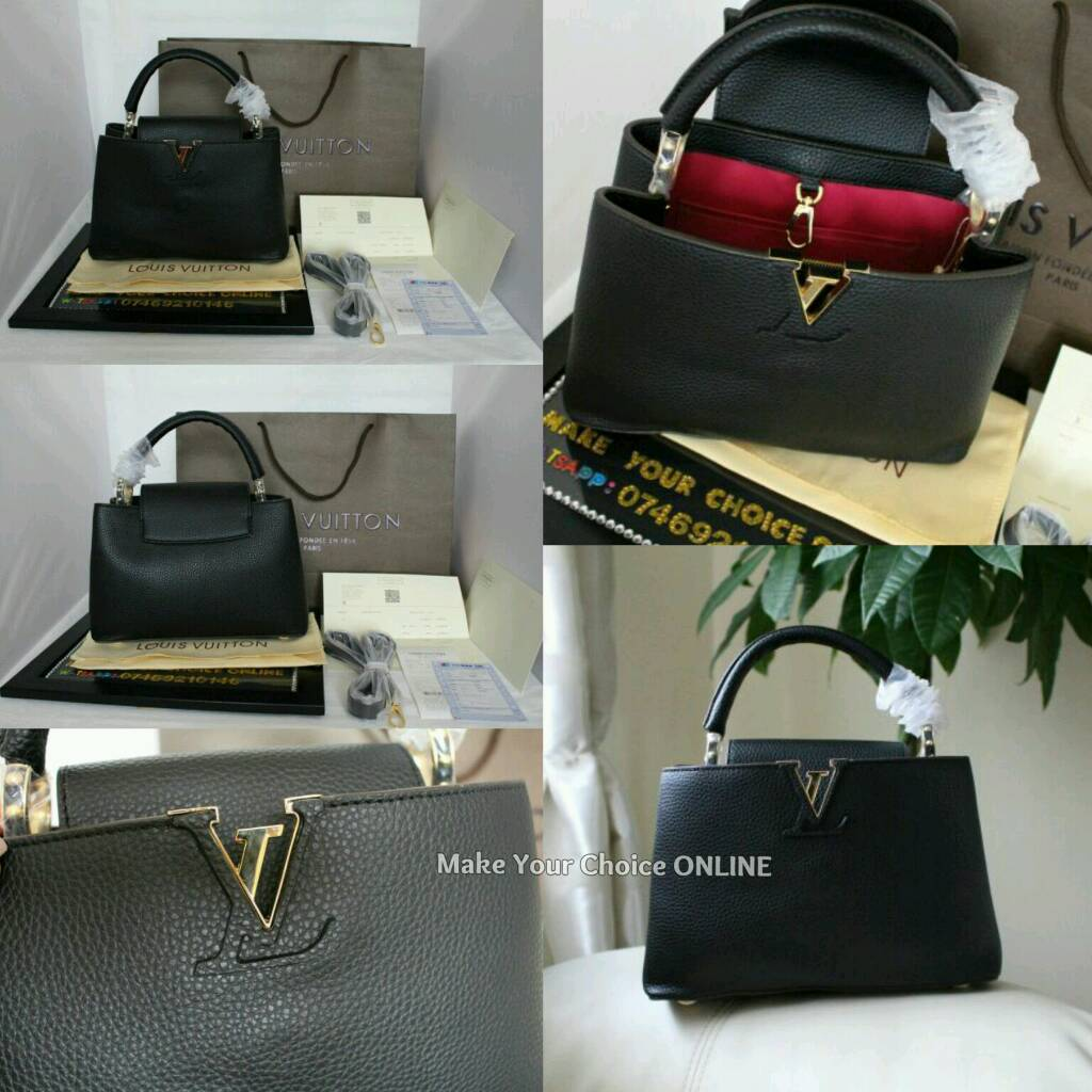 Next day Delivery Louis Vuitton PM Cappuccine 100% genuine Leather with packing