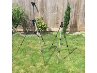 URGENT: 2 x High Quality Tripods