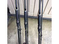 Maver satanic carp rods