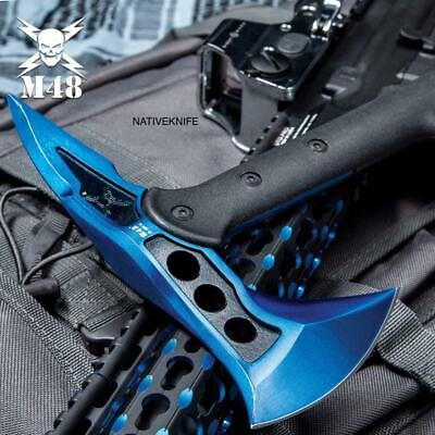 M48 Blue Tactical Tomahawk Axe With Snap On M48 Sheath UC3320 for sale  Lincolnton
