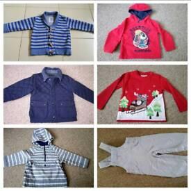 Boy 2 y beautiful branded clothes