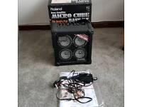 Roland micro cube rx bass amp