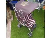 Maclaren Jucie couture buggy very good condition