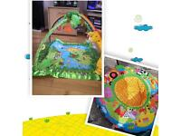 Fisher price rainforest may and play ring