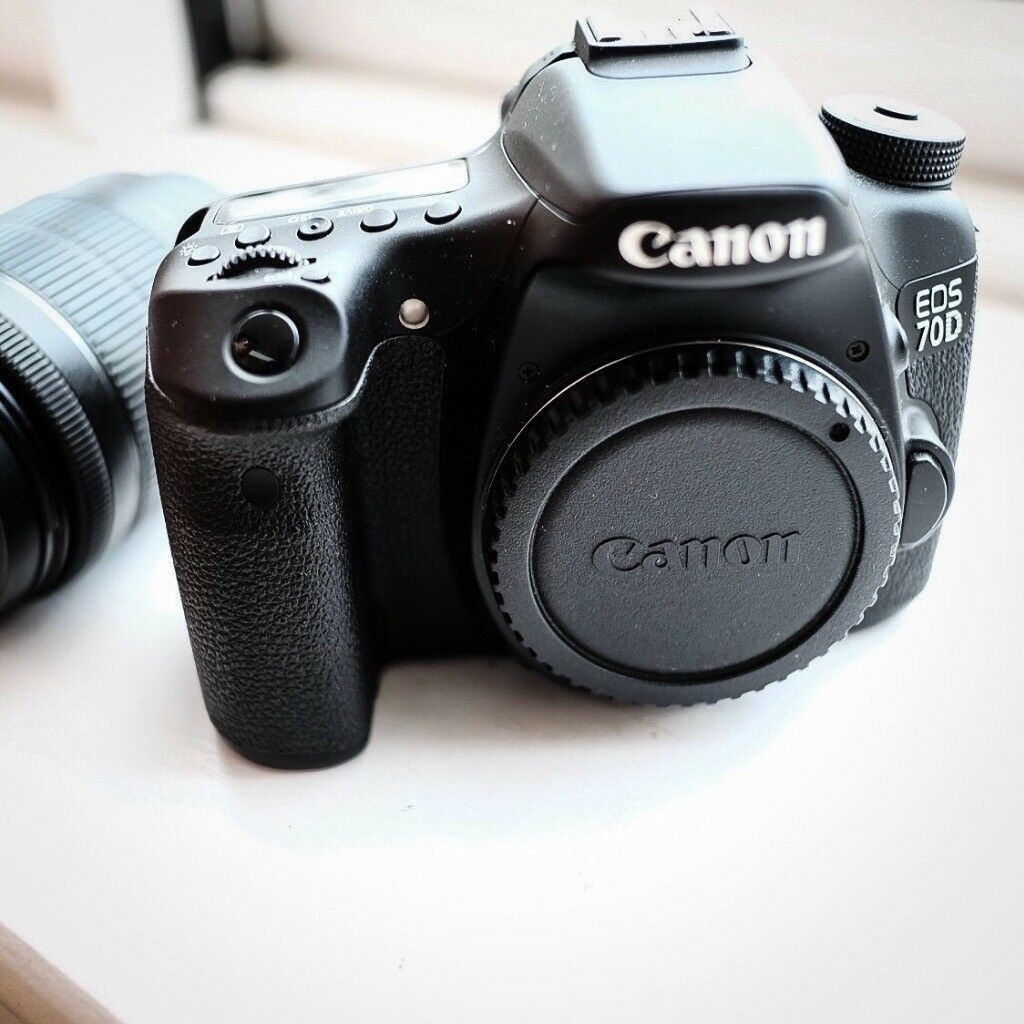 Canon EOS 70D + 18-55 mm STM + extras - MINT! | in Tower Hamlets ...
