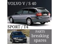 VOLVO V40 + S40 PARTS / BREAKING / SPARES / UK DELIVERY PAYPAL ACCEPTED