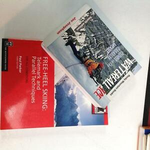 Assorted ski and climbing guides