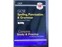 GCSE spelling punctuation and grammar complete study and practice