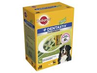 BNIB Pedigree DentaStix Fresh Dog Chews for Large Dog 28 pk