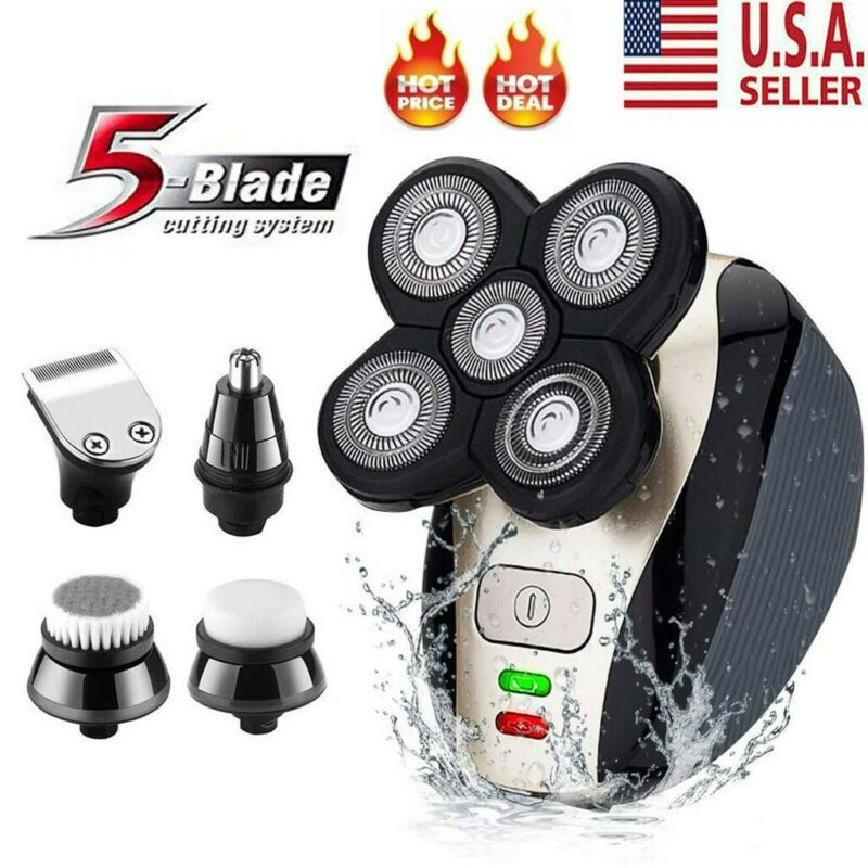 4d 5 in 1 rotary electric shaver