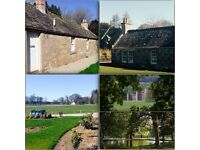 TO RENT:- Beautifully appointed 3 Bedroom Terraced Cottage situated on Fasque Estate Fettercairn