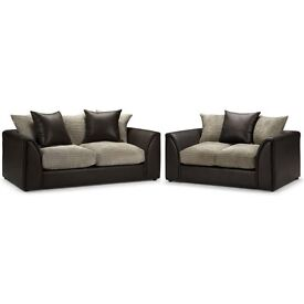 BRAND NEW BYRON SOFA SET 3+2 SEATER ON SPECIAL OFFER
