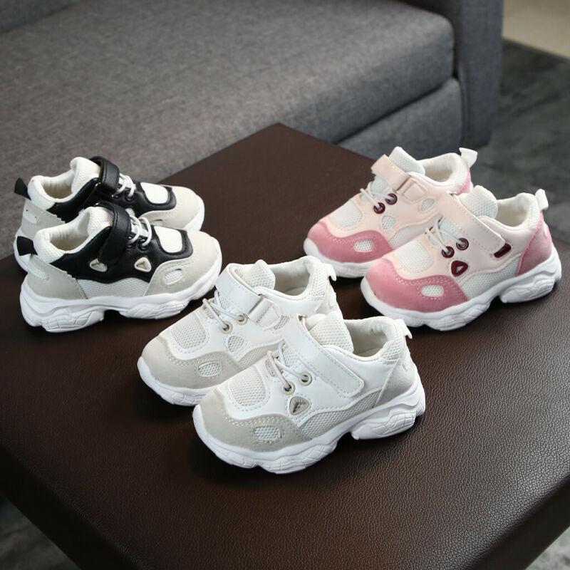 Toddler Infant Kids Baby Girls Boys Fashion Soft Sole Mesh S
