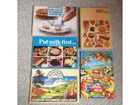 5 Vintage Cook / Bakery book/booklets