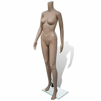 Adult Female Full Size Woman Headless Store Mannequin W Stand Display Clothes