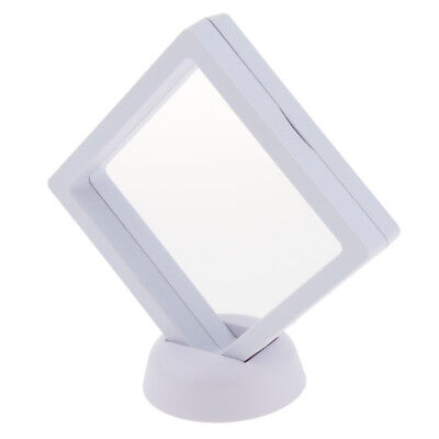 Chic Jewelry 3d Floating Display Frame Case Box Display Stand Holder 9x9cm 1