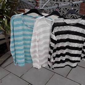 Ladies casual jumpers size,12 and 14