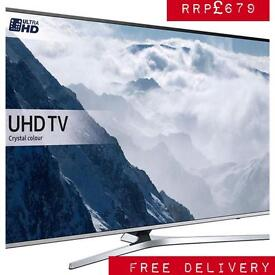 Ex-display SAMSUNG TV 4k Smart UltraHD freesat boxed warranty free delivery RRP£679