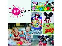 Splat Messy Play special event