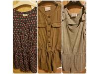 3 x Girls playsuits from Next age 10