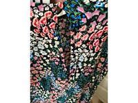 Size 16 Next floral A line dress