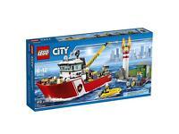 Lego city fire boat 60109 BNISB