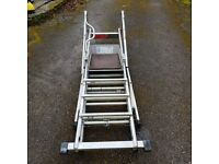 zarges sherpascopic platform ladders 3 heights