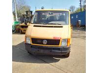 Left hand drive Volkswagen LT46 6 tyres 4.6 Ton truck.