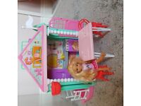 Barbie Chealse clubhouse , playset , doll included